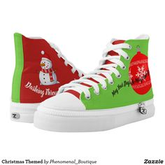 Unisex high-top Sneakers for The Holiday Carnival