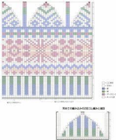 70 ideas for baby crochet mittens pattern hobbies Crochet Mittens Pattern, Fair Isle Knitting Patterns, Knitting Charts, Knitting Stitches, Knitting Designs, Knit Patterns, Crochet Girls, Crochet Baby, Norwegian Knitting