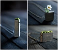 Wearable planters. <3
