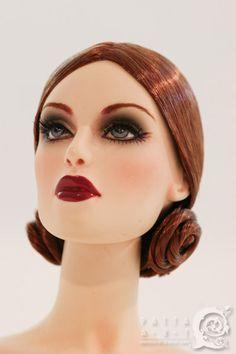 Patta art wigs for fashion dolls ART DECO #10.V04 (Copper Brown) for Sybarites…