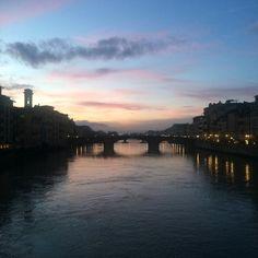 Firenze al crepuscolo