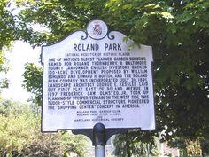Roland Park, Baltimore City
