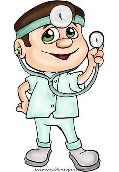 meslekler temalı eğtici kartlar (4) Medical Clip Art, Medical Symbols, Nurse Pics, Community Helpers, Rock Crafts, Digi Stamps, Clipart, Rock Art, Kids Learning