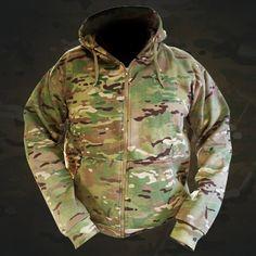 multicam Tactical Full Zip Hoodie