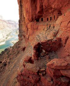 Nankoweap Trail, Grand Canyon, Arizona http://www.menshealth.com/guy-wisdom/best-hikes?slide=5