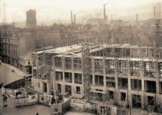Caird Hall Construction.