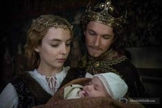 King Henry VII and Queen Elizabeth of York - The White Princess Elizabeth Of York, Princess Elizabeth, Elizabeth King, The White Queen Starz, The White Princess Starz, Historical Tv Series, Elizabeth Woodville, Philippa Gregory, Medieval Clothing