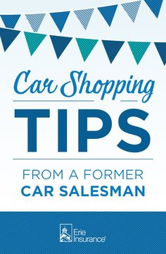Car Shopping Tips from a Former Car Salesman