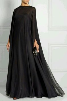 Like an abaya but more flowy.