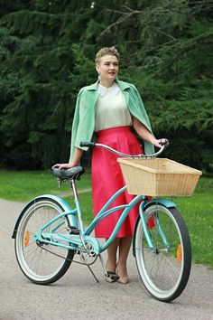 Bicycle Art, Bike, Closet, Outfits, Vintage, Style, Fashion, Bicycle, Swag