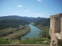 Vistes del del Castell de Mirabet, a la Ribera d'Ebre (Catalunya - Catalonia)