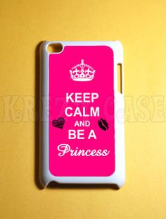 ipod touch 4th generation cases | ... calm and be a princess Ipod 4G Touch Case, 4th Gen Ipod Touch Cases