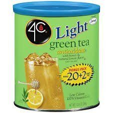 4C Light Iced Tea Mix Green Bonus 22qt Pack of 4 ** Be sure to check out this awesome product.