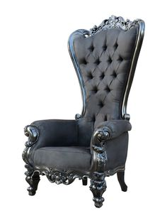 Absolom Roche Chair from Glam Furniture Feat. Fabulous & Baroque on Gilt