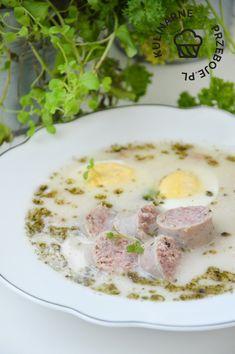 Polish Recipes, Cheeseburger Chowder, Soup Recipes, Pork, Food And Drink, Diet, Cooking Recipes, Polish Food Recipes, Kale Stir Fry
