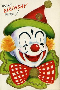 Less-scary clown!