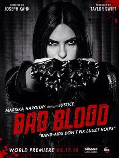 Mariska Hargitay is Justice - Taylor Swift bad blood video