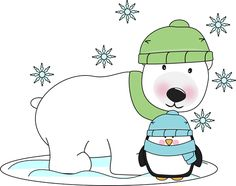Image result for polar bear clip art