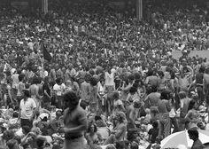 World Series Of Rock, Cleveland Municipal Stadium, 1975. Rod Stewart, Aerosmith, Blue Oyster Cult, Mahogany Rush, Uriah Heep.