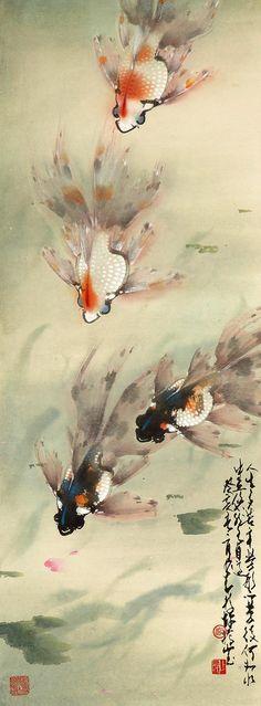 Zhao Shaoang  fish swimming