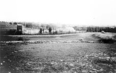 Ohrdruf, Germany, A view of the death camp moments before it's liberation.