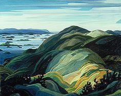 Bay of Islands - franklin carmichael (Group of Seven)