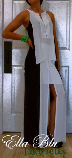 Fresh & Fab...   Black & White Outfit