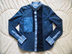 Isabel Marant chemise patchwork