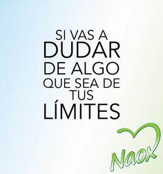 Vamos con toda a lograr nuestros sueños! #ViveEquilibradamente. #Actitud #Motivación #Naox
