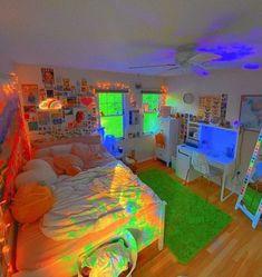 Indie Bedroom, Indie Room Decor, Cute Bedroom Decor, Teen Room Decor, Aesthetic Room Decor, Room Ideas Bedroom, Aesthetic Indie, Chambre Indie, Photographie Indie