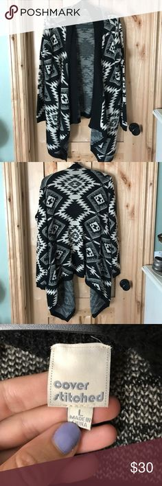Aztec flowy cardigan Worn 1-2 times. In excellent condition Cover Stitched Sweaters Cardigans