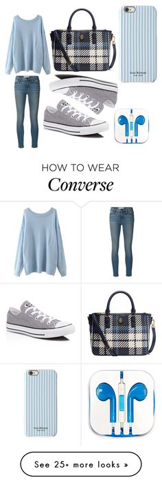 """Untitled #49"" by naimah-nh on Polyvore featuring Frame Denim, Tory Burch, Converse, PhunkeeTree and Isaac Mizrahi"