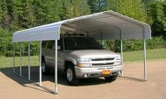 temporary carport - Home Interior Design Ideas Carport Prices, Carport Sheds, Double Carport, Carport Garage, Wooden Carports, Rv Carports, Steel Carports, Temporary Carport