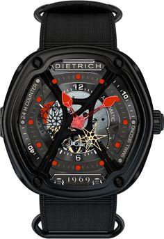Dietrich Watch OT-2 Red #bezel-fixed #bracelet-strap-synthetic #brand-dietrich…