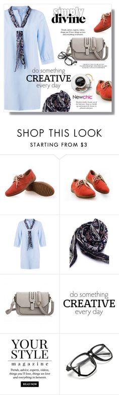 """""""Casual"""" by sans-moderation ❤ liked on Polyvore featuring Pussycat and newchic"""