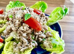 Mince pork hot and spicy salad.  Check my recipes at  http://thaifoodmakeasy.com/ Happy Cooking 👩🏻🍳