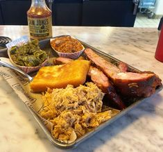 Sam Jones Barbeque, Winterville - A classic but refreshed barbeque shack from a 3rd generation pitmaster, Sam Jones! Wonderful smoked pork, Southern sides and more.  #nctriangledining #barbeque #ncrestaurantreview #ncfood #ncrestaurant  #nceats #smokedmeats