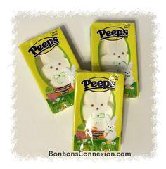 Peeps giant white bunnies - a must for Easter! Lpains géants blanc Peeps - un incontournable pour Pâques!  #bonbonspaques #eastercandy