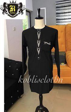 African Dresses Men, African Attire For Men, African Clothing For Men, African Shirts, African Wear, Tailored Fashion, Mens Fashion Suits, Fashion Wear, Nigerian Men Fashion