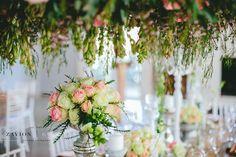 Beautiful wedding flowers and decor for this couple. Fresh, rich wedding flowers.Zavion Kotze Events Company -Weddings, Luxury Weddings, Bride to be, Wedding day, bride, wedding flowers, wedding hour, wedding season, decor, décor.