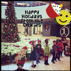 Some of the wonderful kids from our Montessori Center in Islandia gathered to give employees a great performance as they sang a selection of Holiday songs. #HolidaySeason #CutenessOverload #LifeAtCa For more on working in one of our Montessori Schools: http://www.ca.com/us/careers/career-paths/montessori-school.aspx