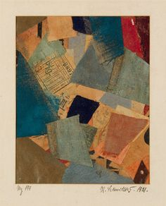 Collection Online | Kurt Schwitters. Mz 199. 1921 - Guggenheim Museum