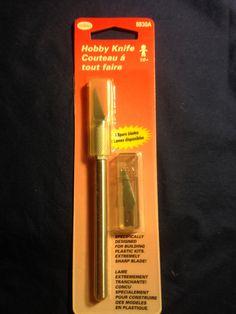 Testors Brand   Hobby Knife   5 spare by CynthiasCraftingNook