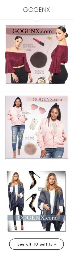 """""""GOGENX"""" by monmondefou ❤ liked on Polyvore featuring plussize, gogenx, MAC Cosmetics, Chanel, Ray-Ban, Christian Louboutin, American Bazi, army, overalls and Tom Ford"""