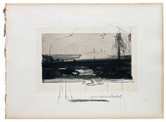 Tjibbe Hooghiemstra  Annaghmakerrig III, 2010  pencil and japanese ink on paper  25 x 34 cm