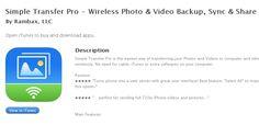 transfer app App, Photo And Video, Blog, Apps, Blogging