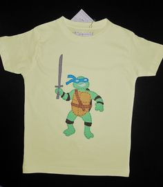 cocodrilova: camiseta tortuga ninja  #camiseta #tortuganinja