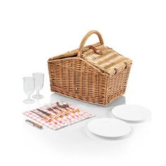 Picnic Time Piccadilly Picnic Basket | Overstock.com Shopping - Big Discounts on Picnic Time Picnic Baskets $58
