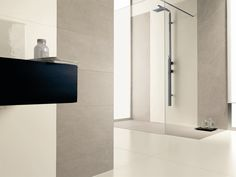 Frost proof laminated stoneware wall/floor tiles KERLITE BLACK-WHITE by COTTO D'ESTE