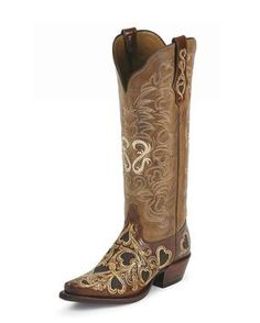 Tony-Lama-Cognac-Natural-Hearts-and-Scroll-Cowgirl-Boots